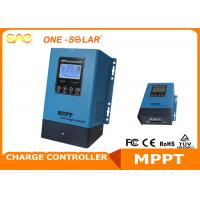 Wholesale High Efficiency MPPT Solar Inverter Solar Charge Controller 12V 24V 48V Auto 30A - 60A from china suppliers