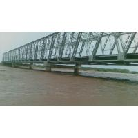 Quality Prefabricated Steel Truss Bridge with Hot - Dip Galvanized Surface Protection for sale