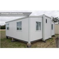 Wholesale 20Ft / 40 Foot Prefab Compact Home , Folding Container House with Living Room and Bathroom from china suppliers