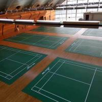 Buy cheap Indoor Outdoor Badminton Court PVC Vinyl Flooring from wholesalers