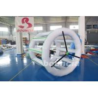 Wholesale 0.9mm PVC Tarpaulin Inflatable Water Roller For Amusement Park from china suppliers
