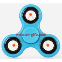 Quality 2017 popular toy hot fidget spinner, factory low price LED finger spinner, enough stock hand shinning spinner toys for sale