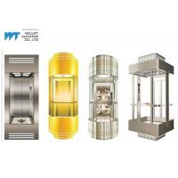 Wholesale Various Cabin Shapes Panoramic Glass Elevator Max Journey 100M With Gearless Drive from china suppliers