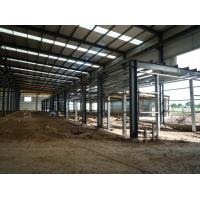 Wholesale Prefabricated industrial commercial steel buildings / residential steel structure building from china suppliers