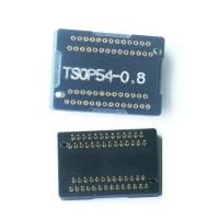 Wholesale programmer adapter TSOP54 adapter receptacle TSOP54 programmer adapter pin board from china suppliers