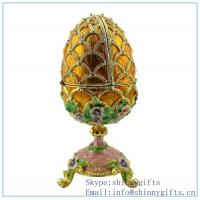 Wholesale Gold Royal Egg Trinket Box on Sale from china suppliers