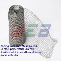 Wholesale crochet weaving knitted wire mesh from china suppliers