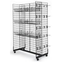 Wholesale Supermarket Snack Display Rack , Metal Hanging Display Racks For Retail Stores from china suppliers