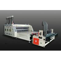 Wholesale High Performance Slotting Flexo Printing Machine / Automatic Feeding Cardboard Machine from china suppliers