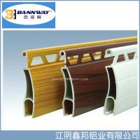 Quality White Color Painting Roller Shutter Door Aluminium Profiles for sale