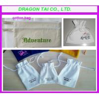 Wholesale Customized Cotton bags, drawstring cotton bag, cotton gift bag; from china suppliers