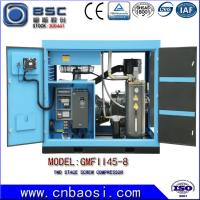 High Efficient 45kw Stationary High Volume Air Compressor 6.5-9.8m³ / Min