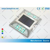 Wholesale Colored Solar Deck Step Lights , LED Marine Dock Lights Illuminate Safety Warning Signs from china suppliers