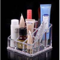 Wholesale Custom retail shop desktop Cosmetic Transparent Acrylic Display Stands ROHS from china suppliers