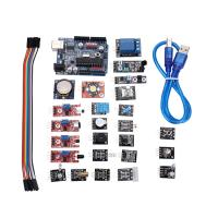 Wholesale 24Pcs Arduino Sensor Kit With UNO R3 Development Board DHT11 Sensor from china suppliers