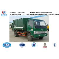 Wholesale high quality and competitive price China famous FAW  Mini garbage compactor truck /Compressed Garbage Truck for sale from china suppliers