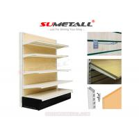 Wholesale Medium Duty Retail Store Shelving With MDF Wood Back Infills For Hardwares Store from china suppliers