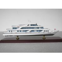 Wholesale Customized Wuhan Yacht  3D Model , Cruise Ship Business Model With ABS Hand Carving from china suppliers
