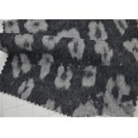 Quality Wrinkle - Resistant Wool Blend Coat Fabric Various Design For Curtain / Sofa for sale
