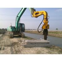 Wholesale Excavator Mounted Mini Integrated Vibratory Pile Hammer Construction Equipment from china suppliers