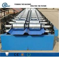Wholesale Hydraulic Aluminum Zinc Standing Seam Roll Forming Machine For Roof Panel from china suppliers