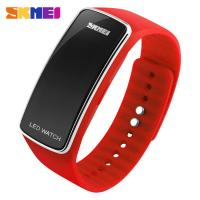 Wholesale Red LCD Digital Watches Movt with Japan Battery For Leisure Life from china suppliers