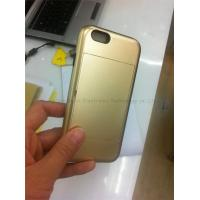 Buy cheap Iphone cover,matte painting card holders for iphone 5,PC+Silicone material,colors,anti-sho from wholesalers