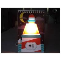 Wholesale Page book USB Calendar light stylish magic color changing GK-CLB-01 from china suppliers