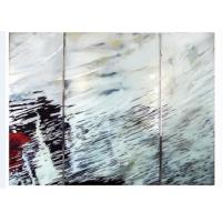 Wholesale Modern Unique Laminated Decorative Glass Panels Interior For Living Room from china suppliers