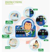 Home Care Portable Baby Bath Thermometer Cartoon Card Safety 1st