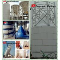 Wholesale Good design white Steel piece Cement Silo with 200T for concrete batching plant from china suppliers