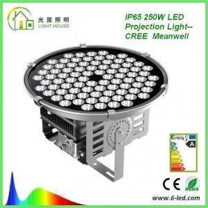 Wholesale High Power 250W Floodlight High Mast Lighting Firxture , IP67 High Mast Tower Lighting from china suppliers