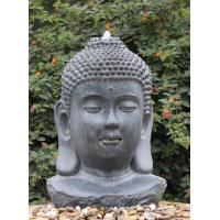 Wholesale Decorative Buddha Statue Water Fountain In Fiberglass / Resin Material from china suppliers
