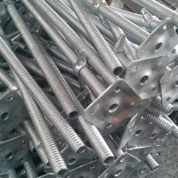 Wholesale Galvanized U-head, U-head jack, Scaffolding head, screw head jack, adjustable jack head from china suppliers