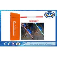 Buy cheap 0.6S High Speed Gate Vehicle Barrier Gate 24V DC Motor LED Barrier from wholesalers