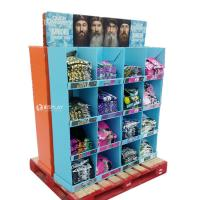 Quality T - Shirt Advertising Cardboard Pallet Display Shelf With Wonderful Design for sale