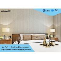 Wholesale Printing And Foam Contemporary Bedroom Wallpaper With Natural Plant Fibers , SGS CSA from china suppliers