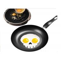 Wholesale Funny Skull Shaped Silicone Egg Ring / Egg Ring Silicone Durable from china suppliers