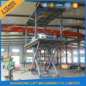 Wholesale 3T 3.3m Double Deck Car Parking System for 2 Car Basement Double Deck Scissor Car Lift from china suppliers