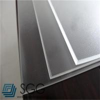 Wholesale photovoltaic tempered glass sheet 3.2mm Low Iron Mistlite Patterned Glass from china suppliers