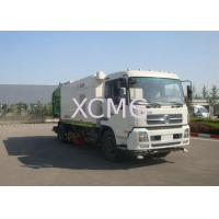 Wholesale Multifunction Road Sweeper Truck 5tons , Vacuum Sweeper Trucks With Washer from china suppliers
