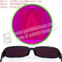 Wholesale 2013 IR perspective glasses for marked cards|texas hold em cheat|omaha cheat|cheat in poker|cheat in gamble from china suppliers