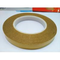 Wholesale up to 180°C High temperature double-sided tape to stick bronze plate for hot foil stamping machine from china suppliers