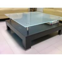 Wholesale Color paint Frosted Satin Table Top Glass ANSI Z97.1 Standards from china suppliers