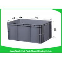 Wholesale Customized Large Plastic Storage Containers , Warehouse Stackable Plastic Boxes from china suppliers