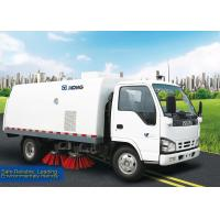 Wholesale Sanitation Truck, 5m3 Road Sweeper Truck XZJ5060TSL for sweep road, suction and automatic unload the the garbage from china suppliers