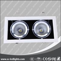 Wholesale energy saving led ceiling grille light with cob chip from china suppliers