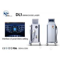 Wholesale Germany Bars 808nm Diode Body Hair Removal Machine / Permanent Hair Removal Machine from china suppliers