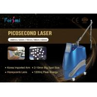 Buy cheap nd:yag laser pico 1064nm/532nm ; 585nm/650nm/755nm Optional pico second q switched nd yag laser from wholesalers