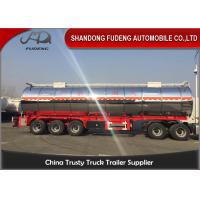 Wholesale 3 Axles And 4 Axles 60000 Liters Stainless Steel Oil Fuel Tanker Tank Semi Trailer from china suppliers